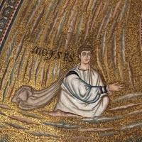 Sant'apollinare in classe, mosaici del catino, trasfigurazione simbolica, VI secolo, 03 mosè - Sailko - Ravenna (RA)