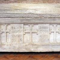 Sant'apollinare in classe, interno, sarcofagi ravennati 04, VI-VII secolo ca - Sailko - Ravenna (RA)