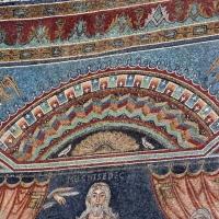 Sant'apollinare in classe, mosaici del catino, sacrifici di abele, melchidesech e abramo, 650-700 ca. 02 - Sailko - Ravenna (RA)