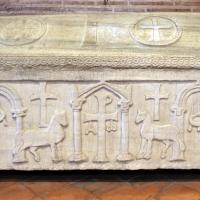 Sant'apollinare in classe, interno, sarcofagi ravennati 07, VI-VII secolo ca - Sailko - Ravenna (RA)