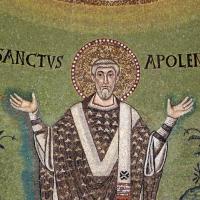 Sant'apollinare in classe, mosaici del catino, trasfigurazione simbolica, VI secolo, 16 s. apollinare - Sailko - Ravenna (RA)