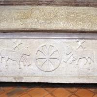 Sant'apollinare in classe, interno, sarcofagi ravennati 05, VI-VII secolo ca - Sailko - Ravenna (RA)