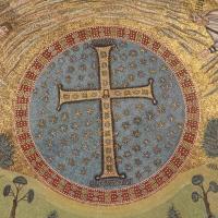 Particolare musivo della cupola - Sant'Apollinare in Classe - Chiara Dobro - Ravenna (RA)