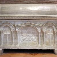 Sant'apollinare in classe, interno, sarcofagi ravennati 01, VI-VII secolo ca - Sailko - Ravenna (RA)
