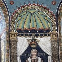 Sant'apollinare in classe, mosaici del catino, ecclesio, 550 ca. 02 - Sailko - Ravenna (RA)