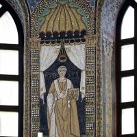 Sant'apollinare in classe, mosaici del catino, orso, 550 ca. 01 - Sailko - Ravenna (RA)