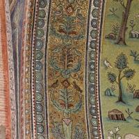 Sant'apollinare in classe, mosaici del catino, fasce decorative, VI secolo, 01 - Sailko - Ravenna (RA)