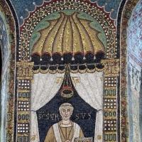 Sant'apollinare in classe, mosaici del catino, orso, 550 ca. 02 - Sailko - Ravenna (RA)