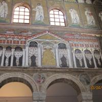 Basilica di Sant'Apollinare Nuovo- interno - Chiara Dobro - Ravenna (RA)
