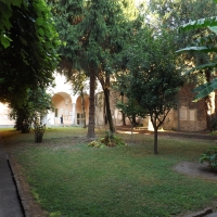 Chiostro - complesso di Sant'Apollinare Nuovo - Cristina Cumbo - Ravenna (RA)