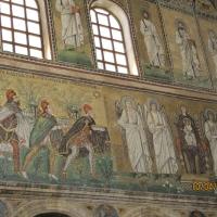 Mosaici parte sinistra - Basilica S. A. Nuovo - Chiara Dobro - Ravenna (RA)