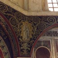 Particolare di un profeta tra racemi di vite - Cristina Cumbo - Ravenna (RA)