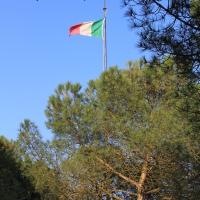 Capanno Garibaldi - bandiera italiana - Chiara Dobro - Ravenna (RA)