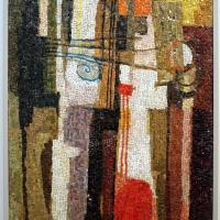 Renato signorini su dis. di afro, senza titolo, 1955 - Sailko - Ravenna (RA)