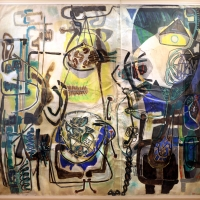 Renato birolli, composizione con elementi marini, 1955 - Sailko - Ravenna (RA)
