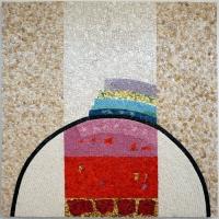 Scuola del mosaico dell'acc. di ravenna, su dis. di eugenio carmi, come sarebbe bello il mondo, 2009 - Sailko - Ravenna (RA)