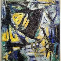 Libera musiani su dis. di antonio corpora, senza titolo, 1957 - Sailko - Ravenna (RA)