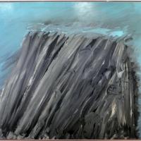 Mattia moreni, tetti di baracche di paglia nelle langhe della romagna, 1965 - Sailko - Ravenna (RA)