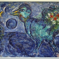 Antonio rocchi su dis. di marc chagall, le coq bleu, 1958-59 - Sailko - Ravenna (RA)