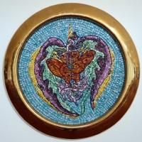 Scuola del mosaico dell'acc. di ravenna, su dis. di luigi ontani, GaniMadeAuReoboro, 2003 - Sailko - Ravenna (RA)