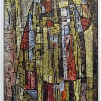 Antonio rocchi su dis. di mirko, senza titolo, 1957-59 - Sailko - Ravenna (RA)