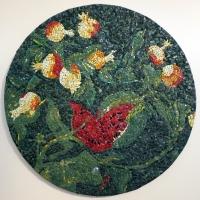 Scuola del mosaico dell'acc. di ravenna, su dis. di piero gilardi, tappeto natura, 2003 - Sailko - Ravenna (RA)