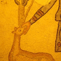 Mosaico del pastore, particolare della cerva - Cristina Cumbo - Ravenna (RA)