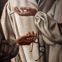 Ubaldo oppi, i chirurghi, 1926 (vicenza, pal. chiericati) 04 mani, occhiali 1 - Sailko - Ravenna (RA)