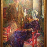 Umberto boccioni, le due amiche, 1915 (ass. generali) 01 - Sailko - Ravenna (RA)