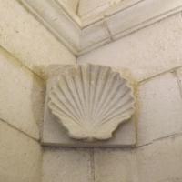 Particolare della conchiglia, interno del Mausoleo - Cristina Cumbo - Ravenna (RA)