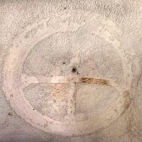 Mausoleo di teodorico, interno, camera superiore, croce gemmata sulla volta 01 - Sailko - Ravenna (RA)