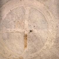 Mausoleo di teodorico, interno, camera superiore, croce gemmata sulla volta 02 - Sailko - Ravenna (RA)