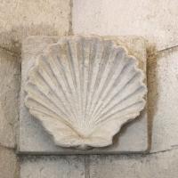 Mausoleo di teodorico, interno, camera inferiore, 03 peduccio a conchiglia - Sailko - Ravenna (RA)
