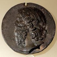 Scuola italiana, testa d'uomo barbuto, xix secolo - Sailko - Ravenna (RA)