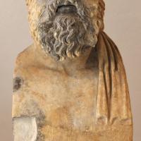 Erma di milziade con coppia iscrizione, II secolo dc, da roma - Sailko - Ravenna (RA)