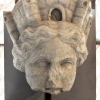 Testa di tyche, 150-175 dc ca, da via romea vecchia a classe (ra) - Sailko - Ravenna (RA)