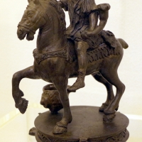 Scuola padovana, costantino (marco aurelio) a cavallo, 1500 ca - Sailko - Ravenna (RA)