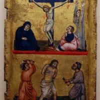 Pittore bolognese, crocifissione e cristo alla colonna, xiv secolo - Sailko - Ravenna (RA)