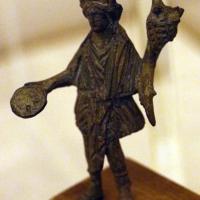 Arte romana imperiale, bronzetti da larario, iside-fortuna - Sailko - Ravenna (RA)