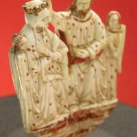 Veneto, incoronazione della vergine, dal riccio di un pastorale, avorio, 1370-90 ca. 03 - Sailko - Ravenna (RA)