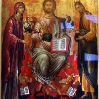 Artista forse cretese, deesis (madonna e s. giovanni pregano cristo per l'umanità), xvi secolo - Sailko - Ravenna (RA)