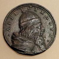 Italia del nord, busto di aristotele, 1490-1510 ca - Sailko - Ravenna (RA)