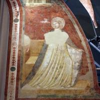 Pietro da rimini e bottega, affreschi dalla chiesa di s. chiara a ravenna, 1310-20 ca., annunciazione 02 - Sailko - Ravenna (RA)