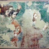 Pietro da rimini e bottega, affreschi dalla chiesa di s. chiara a ravenna, 1310-20 ca., santo stefano martirizzato - Sailko - Ravenna (RA)