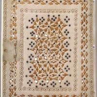 Egitto islamico (attr.), laminette traforate e montate a libro, avorio, xiv-xv secolo - Sailko - Ravenna (RA)