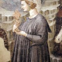 Pietro da rimini e bottega, affreschi dalla chiesa di s. chiara a ravenna, 1310-20 ca., adorazione dei magi 03 - Sailko - Ravenna (RA)
