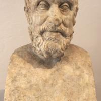 Erma di carneade, 100-150 dc ca, da roma - Sailko - Ravenna (RA)