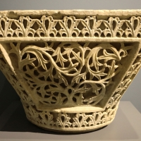 Area costantinopolitana, capitello imposta a paniere, VI secolo (ravenna, museo nazionale) 01 - Sailko - Ravenna (RA)