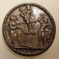 Pseudo melioli, giudizio di salomone, italia del nord, 1490 ca - Sailko - Ravenna (RA)