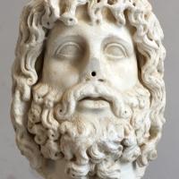 Testa di zeus serapide, 190 dc ca, prov. ignota - Sailko - Ravenna (RA)